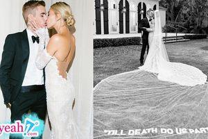 Justin Bieber và Hailey Baldwin tung trọn bộ ảnh cưới với những nụ hôn đầy ngọt ngào say đắm