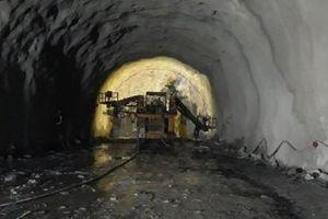 Thi công ống hầm Hải Vân 2 vượt tiến độ 6 tháng