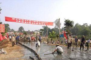 Nghệ An: Người dân hiến hơn 8 triệu m2 đất xây dựng nông thôn mới