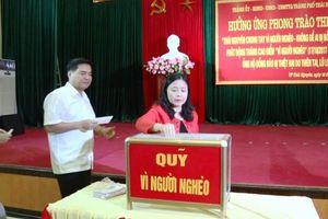 Hiệp Hòa (Bắc Giang): 23 tỷ đồng ủng hộ Quỹ 'Vì người nghèo'