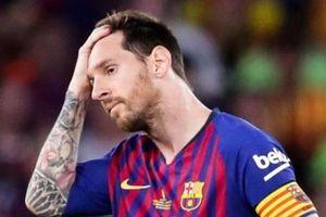 Messi tuyên bố không còn muốn chơi bóng tại Tây Ban Nha