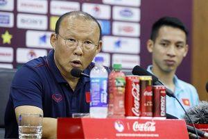 HLV Park bày tỏ sự thận trọng trước đối thủ Malaysia