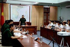 Đoàn công tác Bộ Tổng Tham mưu thăm, kiểm tra tại Vùng 3 Hải quân