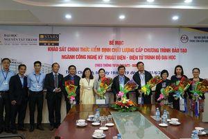 Trường ĐH Nguyễn Tất Thành có 2 chương trình đào tạo đạt chuẩn kiểm định chất lượng theo tiêu chí mới