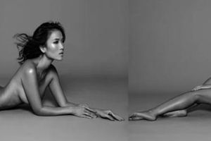Bằng Lăng chụp ảnh nude ở tuổi 40