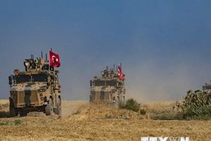 Quân đội Thổ Nhĩ Kỳ bắt đầu tấn công vào biên giới Syria-Iraq