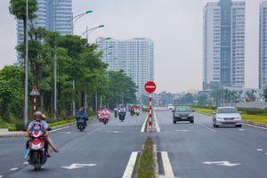 Toàn cảnh tuyến đường kết nối 3 quận nội thành Hà Nội vừa thông xe