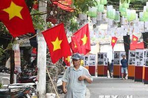 Hà Nội trang hoàng rực rỡ kỷ niệm Ngày giải phóng Thủ đô