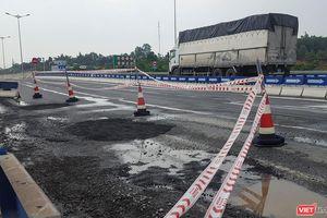 Bộ GTVT lại có chỉ đạo hỏa tốc về hư hỏng tại cao tốc Đà Nẵng - Quảng Ngãi