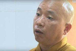 Hôm nay, Giáo hội Phật giáo Vĩnh Phúc ra thông báo về sư Thích Thanh Toàn