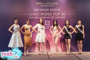 Xúc động khoảnh khắc trao sash cho các thí sinh tại Hoa hậu Hoàn Vũ Việt Nam 2019