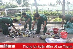 Chung tay bảo vệ môi trường ở Tiểu đoàn 40