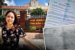 Vụ nữ trưởng phòng ở Đắk Lắk: Bất ngờ danh phận '3 trong 1'