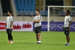 Đội tuyển Malaysia tập nhẹ trước trận cầu ngày mai