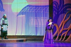 Công diễn 'Ngàn năm mây trắng' tại Liên hoan Quốc tế sân khấu thử nghiệm