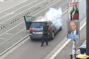 Hiện trường vụ vừa livestream, vừa xả súng nhằm vào thánh đường người Do Thái ở Đức