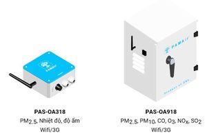 Lắp điểm đo chất lượng không khí PAM Air như thế nào?