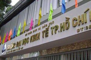 Chấm sai bài thi: Kỷ luật một giảng viên ĐH Kinh tế TP.HCM