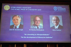 Nobel Hóa học 2019 vinh danh 'lợi ích vĩ đại nhất đối với nhân loại'