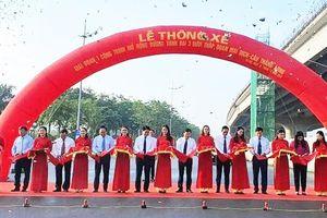 Hà Nội thông xe đường vành đai 3 đoạn Mai Dịch- Nam Thăng Long