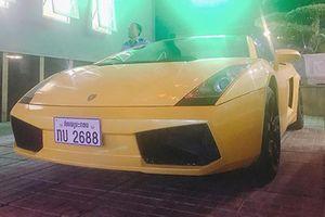 Siêu xe Lamborghini biển Lào chỉ 3,7 tỷ tại Vinh