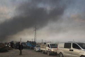 Cảnh dân 'hoảng loạn' sơ tán vì TNK tấn công Syria