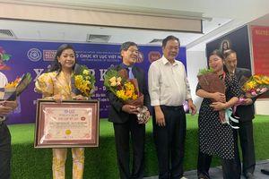 Lần thứ 2, Tân Hiệp Phát tiếp tục xác lập Kỷ lục Việt Nam 'THP - Innovation'
