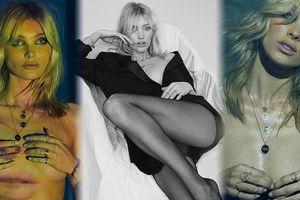 Siêu mẫu áo tắm Elsa Hosk ngực trần chụp ảnh nóng bỏng