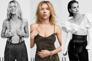 Tình cũ Brad Pitt ngực trần, đọ sắc cô đào gợi tình Scarlett Johansson
