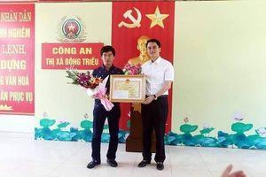 Quảng Ninh thưởng nóng tài xế húc ngã tên cướp có súng