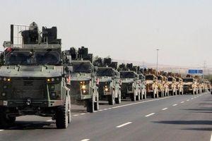 Vừa tấn công Syria ngày đầu tiên, Thổ Nhĩ Kỳ đã nã đạn pháo vào hơn 180 mục tiêu