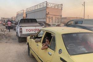 Người dân Syria nháo nhào tháo chạy khỏi 'tử địa' của quân đội Thổ Nhĩ Kỳ