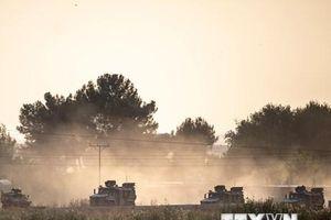 Hình ảnh binh sỹ Thổ Nhĩ Kỳ tấn công người Kurd ở Syria