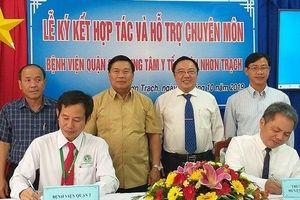 Đồng Nai hợp tác xây dựng khu khám chữa bệnh chất lượng cao với TP.HCM