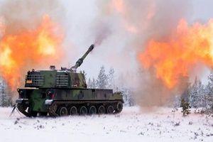 Các nước Baltic quây kín biên giới Nga bằng pháo tự hành tối tân