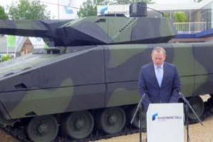 Mỹ và Đức hợp tác phát triển xe chiến đấu không người lái