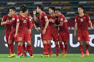 BXH đội xếp thứ 2 vòng loại World Cup 2022: Việt Nam lọt top đầu