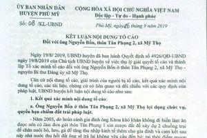 Bình Định: Nguyên Bí thư Đảng ủy xã bị tố khai man thành tích để nhận Huy chương kháng chiến