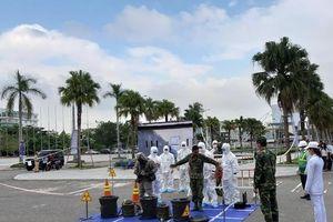 Đà Nẵng: Diễn tập Ứng phó sự cố bức xạ hạt nhân 2019