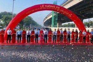 Hà Nội thông xe đường vành đai 3 Mai Dịch-Cầu Thăng Long rộng 16 làn