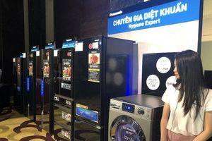 Panasonic giới thiệu công nghệ diệt khuẩn mới trên sản phẩm tủ lạnh và máy giặt