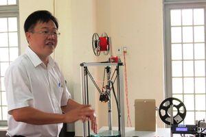 Sáng tạo 'Máy in 3D' ứng dụng trong đào tạo nghề