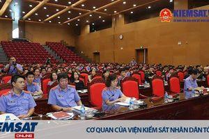 Hội nghị tập huấn công tác thống kê trong toàn ngành KSND khu vực phía Bắc