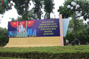 Hà Nội rực rỡ chào mừng Ngày giải phóng Thủ đô