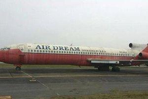 Máy bay bỏ hoang ở Nội Bài lại được viện dưỡng lão xin đổi