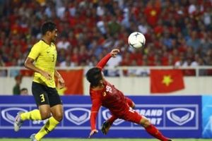 Việt Nam thắng Malaysia 1-0 ở chảo lửa Mỹ Đình