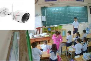 Camera trong lớp học