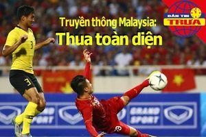 Truyền thông Malaysia: Thua toàn diện; Cánh chim lạ Việt Phong