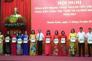 Quận Thanh Xuân: Lan tỏa những tấm gương điển hình tiên tiến