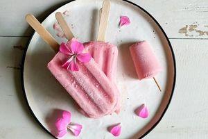 Cách làm kem đào mát lạnh ăn quá đã ngày nắng hanh hao
